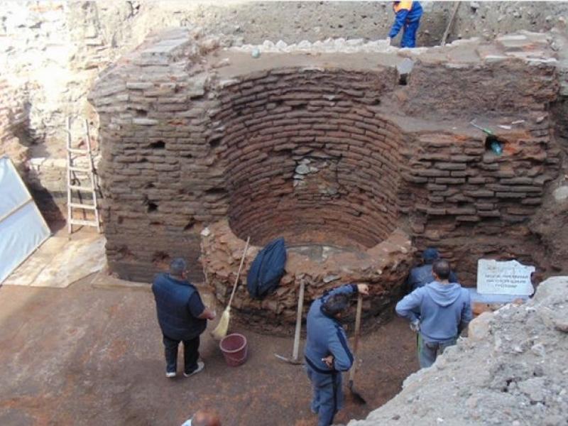 Откритата римска баня в центъра на Пловдив става туристическа атракция