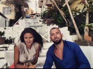 Първи СНИМКИ от медения месец на Наско Месечков
