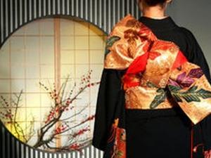 Дефиле на японски кимона в Културен център