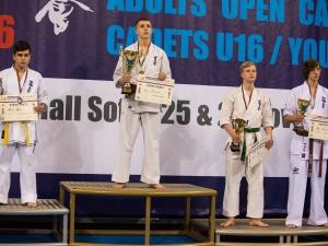Пловдивските каратисти се върнаха с 5 медала от Европейското в София СНИМКИ