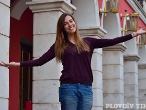 Радина Думанян: Обичам да си късам обувките в Стария Пловдив