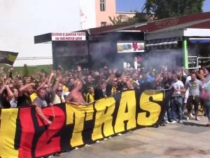 Бултрасите окупират Коматево, ще подкрепят отбора срещу Верея, въпреки наказанието