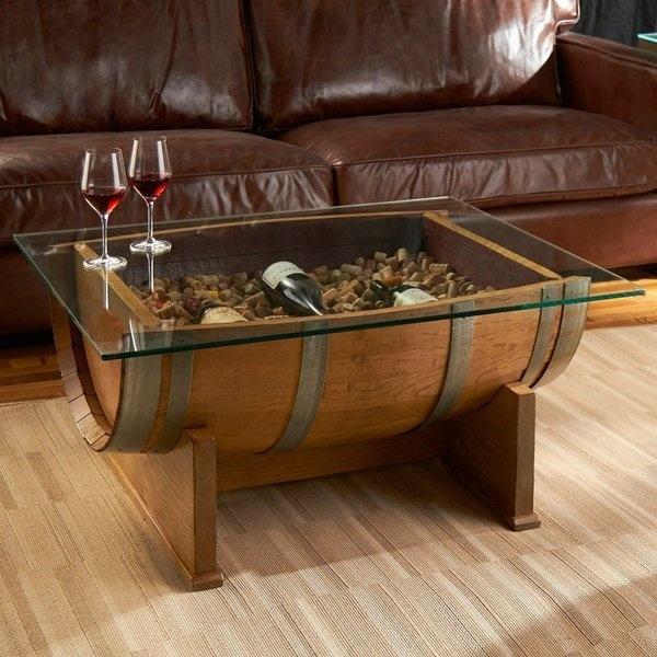 Направете си мебели от... бъчва СНИМКИ