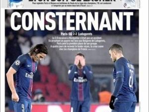 Френската преса за провала на ПСЖ срещу