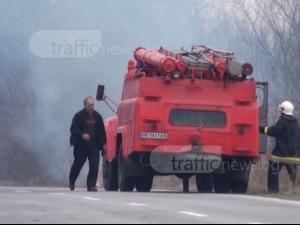 От ВМЗ отричат, че огромният пожар е заради взривовете, работници твърдят друго ВИДЕО