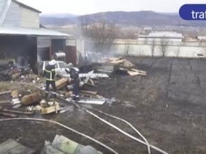 Пожарът в Коматево е изпепелил помощи за Хитрино ВИДЕО