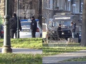 Жандармерия окупира Турското консулство в Пловдив ВИДЕО
