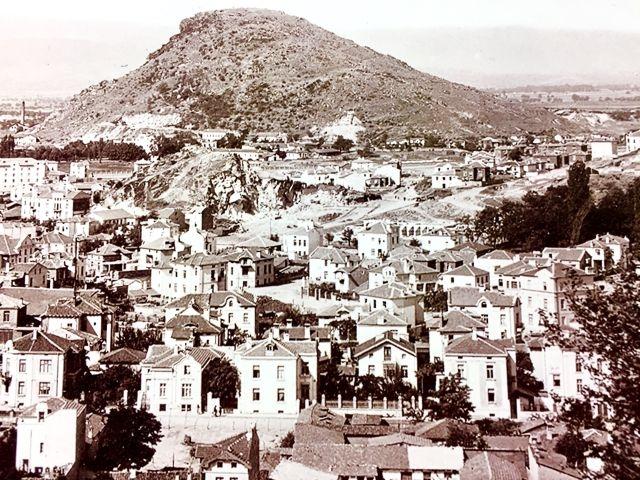 Пловдивските тепета изчезват през годините СНИМКИ
