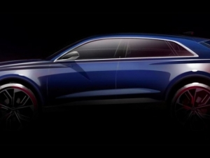 Audi представя големия кросоувър Q8 през януари