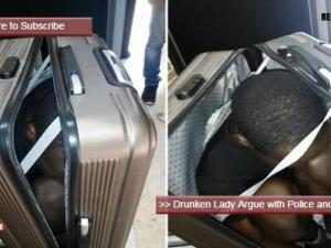 Жена опита да пренесе мигрант в... куфар ВИДЕО