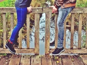Успехът на любовните взаимоотношения между мъжа и жената зависи от тяхната... височина