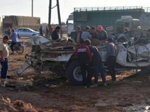 Кола бомба уби 43 души в Сирия