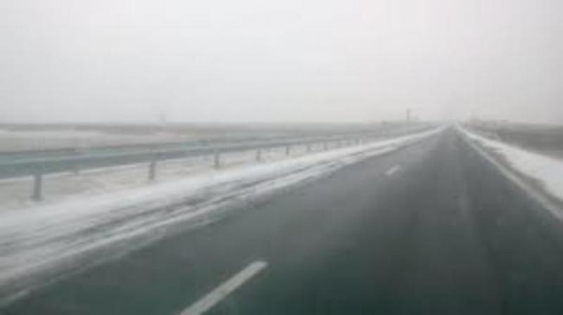 Отвориха магистрала Хемус, може да се пътува и към Бургас