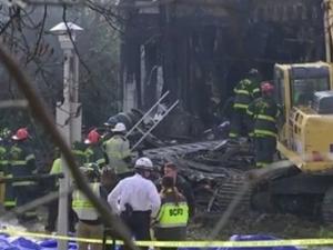 Шест деца загинаха при пожар в 3-етажна къща ВИДЕО