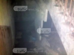 Пожар в Гиганта остави цял вход без ток в студа СНИМКИ