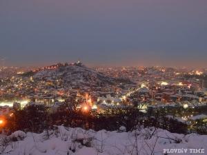 Нова порция сняг идва към Пловдив