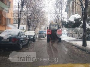 Община Пловдив купува още сол за пътищата за над 200 хиляди лева