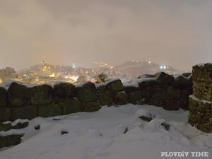 Зимната приказка в Пловдив от птичи поглед ВИДЕО