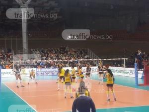 Рекорд в Пловдив! Срещата Марица-Ямамай с най-много публика в турнир за Купата на ЦЕВ