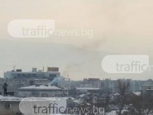 Пловдивски Карлсон се качи на покрива и изхвърли снега на... друг покрив ВИДЕО+СНИМКИ
