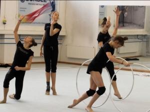 Новите ни гимнастички с първо официално контролно ВИДЕО