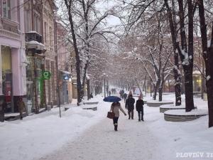 Много дъжд и сняг чака Пловдив през новата седмица, а в края и поледици