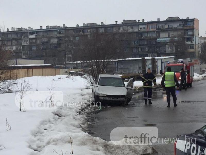 Шофьорът от тежката катастрофа в Кючука - без книжка и дрогиран СНИМКИ