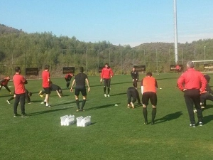Локомотив посреща Вардар в последната си контрола в Турция