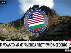 Майтапчийски клип на Господарите за Доналд Тръмп бе излъчен по CNN ВИДЕО