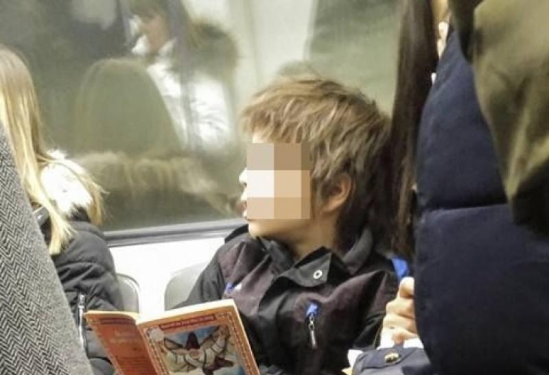 Едно българско дете в метрото шашна всички СНИМКИ