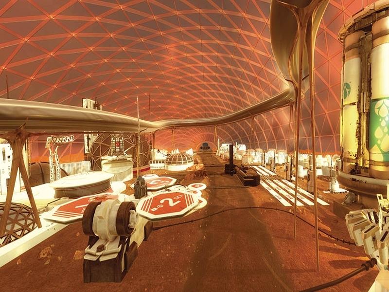 Шейхове искат да строят град на Марс