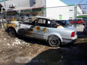 """Арестуваха водача на пламналия пасат след катастрофата на """"Руски"""" СНИМКИ"""
