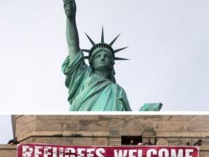 Статуята на Свободата приветства мигрантите в САЩ