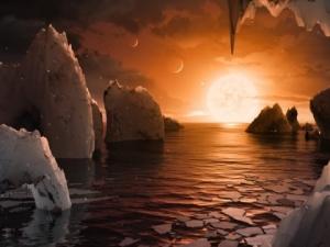 НАСА откри 7 планети! Три са годни за живот СНИМКА+ВИДЕО