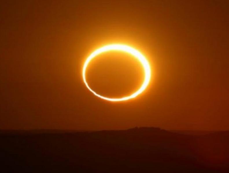 Огнен пръстен ще обгърне Луната днес, ще се вижда от Земята