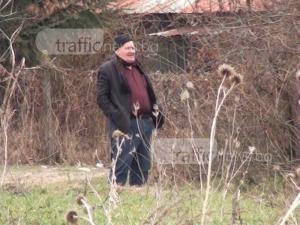 Вижте бизнесмена, убил и запалил 4 кучета край Карлово ВИДЕО