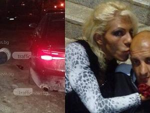 Надрусаният и пиян епилептик се оказа любимият на арестувания травестит от Кючука ВИДЕО