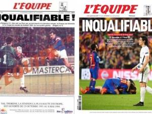 Френски вестник сравни загубата на ПСЖ с мач с България от 1993 г.