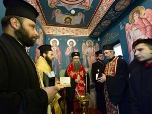 Дядо Николай освети нов параклис в Административния съд в Пловдив