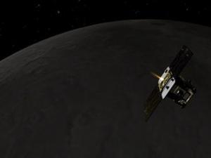 НАСА откри изгубен космически кораб в орбита около Луната