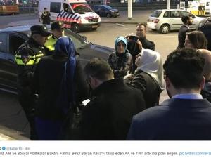 Задържаха турския социален министър в Холандия