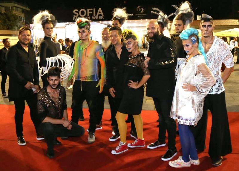 Sofia fashion week повери бекстейджа на Christian of Roma