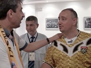 Полицаи напръскаха със спрей Велизар Гърка