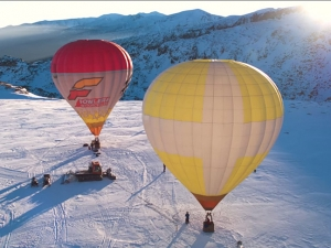 При -50 градуса: Сутрешна обиколка с балон над Рилските езера ВИДЕО