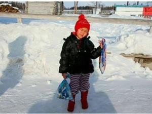 4-годишно момиченце извървя километри при минус 34 градуса, за да спаси баба си