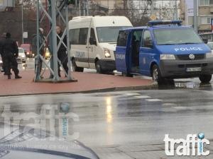 Полицията с драконовски мерки за сигурност преди Локо – ЦСКА