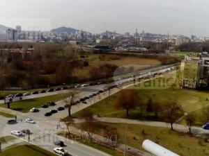 Локо Пловдив поведе в мача с ЦСКА, фенове превърнаха Тракия в гигантски паркинг