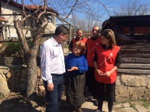 Ген. Константин Попов се срещна с възрастни хора в Пловдивска област ВИДЕО