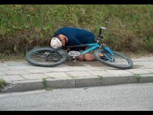 Пиян колоездач бе глобен с 30 лева в центъра на Пловдив, съдът го оправда