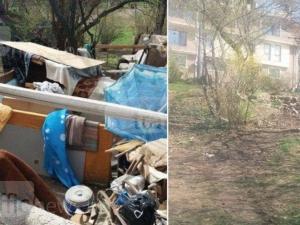 48 часа след публикация на ТrafficNews: Общината ликвидира катуна на бившия полицай на Бунарджика